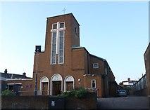TQ3384 : Our Lady & St Joseph Church, Dalston by David Howard