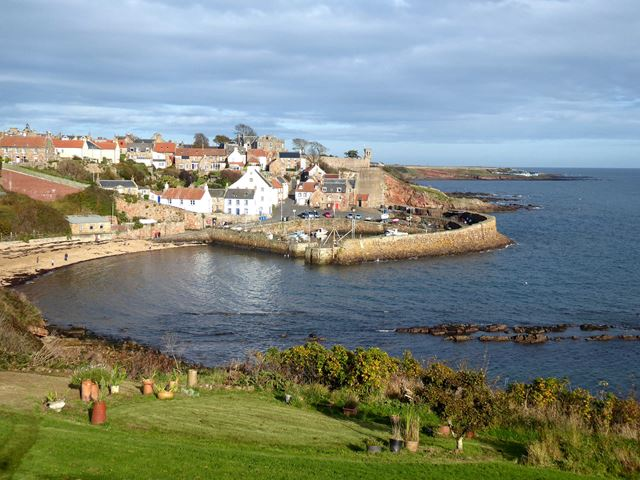 Crail Bay and Harbour