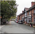 SO4382 : East along School Road, Craven Arms by Jaggery