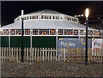 NS4864 : Paisley Spiegel tent in County Square by Thomas Nugent