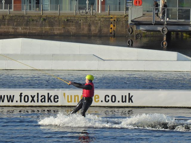 Cable wakeboarder