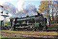 SD7916 : East Lancashire Railway - visiting locomotive by Chris Allen