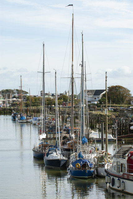 Boats on the River Arun