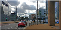 SK5804 : Vaughan Way and Highcross Street junction, Leicester by Mat Fascione