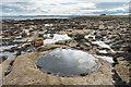 NU1443 : Rocky beach by Ian Capper
