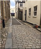 TQ3370 : Childs Lane, Crystal Palace 'triangle', south London by Robin Stott