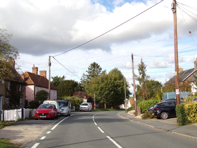 B1024 Kelvedon Road, Coggeshall by Adrian Cable