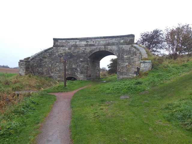 Bridge on the Fife Coast Railway
