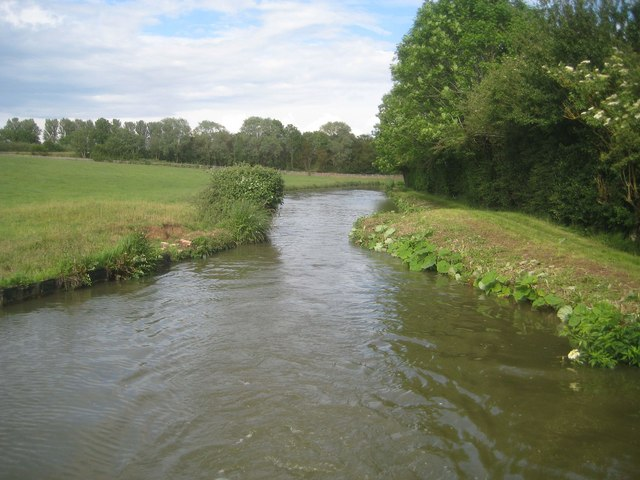 Oxford Canal: Site of former Swing Bridge Number 184