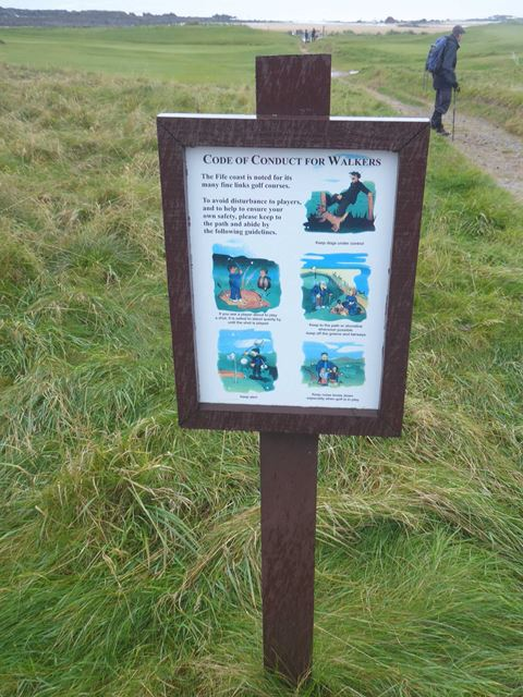 Code of conduct for walkers