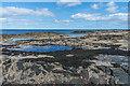 NU1736 : Near Blackrocks Point by Ian Capper