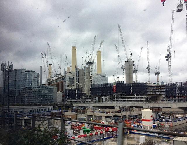 Battersea Power Station development, Chelsea Bridge (8)