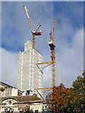 SP0686 : New tower block in Birmingham by Roger  Kidd