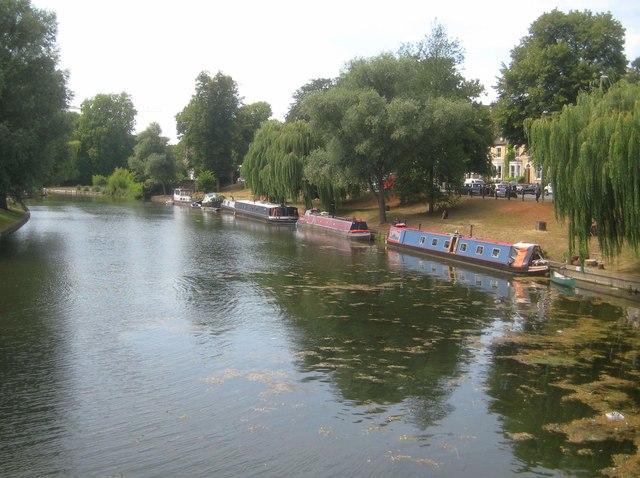 River Cam: Reach upstream of Jesus Green Lock