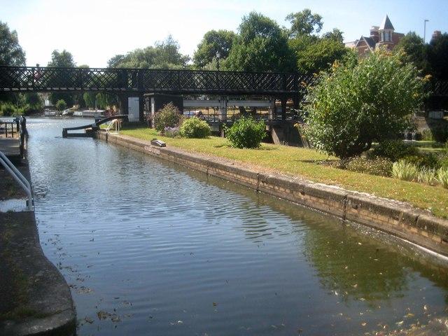 River Cam: Jesus Green Lock