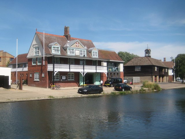 Cambridge: Goldie boathouse