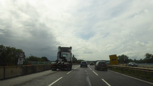 M6 crossing the A34