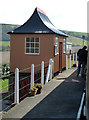 ST0842 : West Somerset Railway - Doniford Halt by Chris Allen