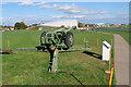 TL4545 : Howitzer Field Gun, IWM Duxford by David Dixon