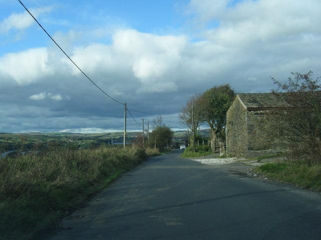 Watling Street near Bradshaw Head