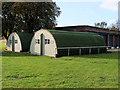 TL4546 : Nissen Huts at Duxford Airfield by David Dixon