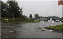 SU1283 : Roundabout on Tewkesbury Way, Swindon by David Howard