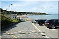 SH3040 : Parking area at Y Lon Gam, Nefyn by Jeff Buck