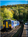SK2578 : Sheffield bound service at Grindleford by Peter Moore