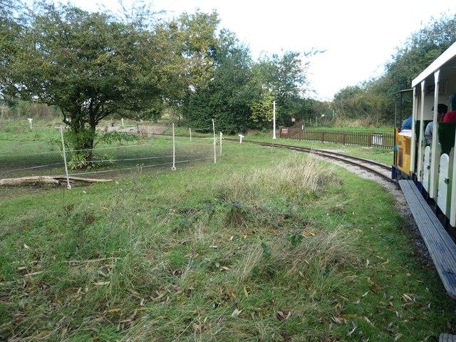 Hampton & Kempton Waterworks Railway, Hanworth Loop [1]