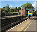 SO5058 : Milford Haven train entering Leominster station from the north by Jaggery