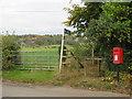 TQ4063 : Public footpath at Nash, near Keston by Malc McDonald