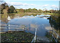 SK5907 : Flooding next to Loughborough Road by Mat Fascione