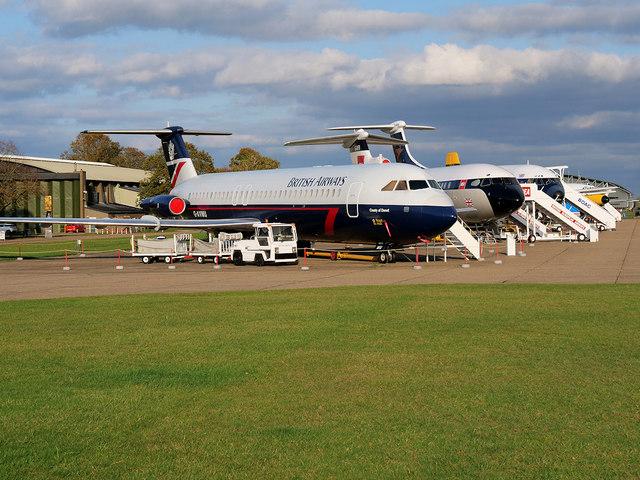 Civil Airliners at Duxford