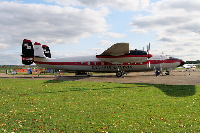 Airspeed Ambassador at IWM Duxford