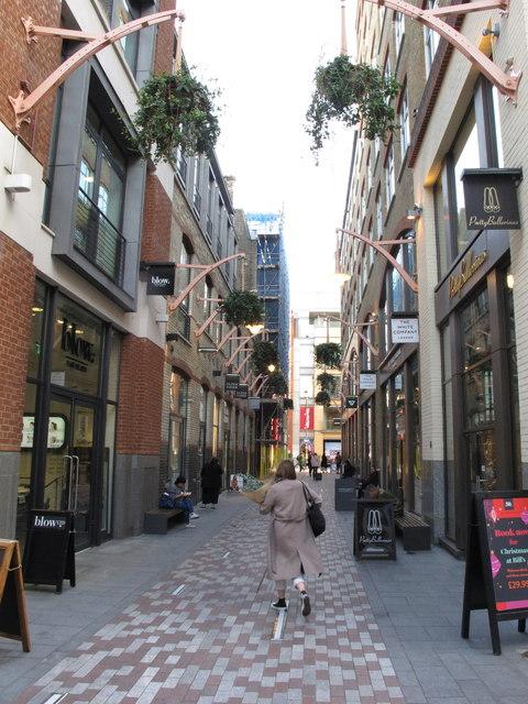 St Martin's Courtyard Covent Garden
