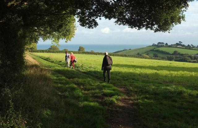 Path from Oak Hill Cross Road