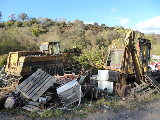 Old scrapyard near Hope Valley