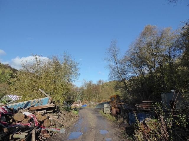 Old scrapyard near Hope Valley