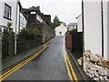 SH7777 : No Parking in Rosemary Lane, Conwy by Jaggery