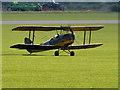 TL4646 : Duxford Airfield, de Havilland DH82A Tiger Moth by David Dixon