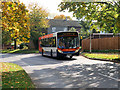 SP7964 : Bus on Crestwood Road by David Dixon