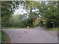 TQ3859 : Church Lane, near Warlingham by Malc McDonald