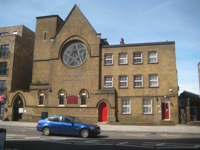 Canning Town: St Margaret's Catholic Church