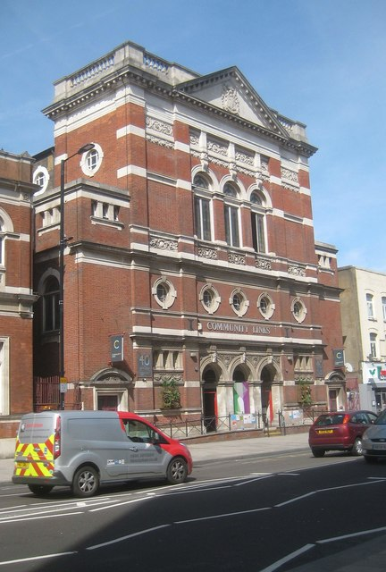 Canning Town: Former public hall
