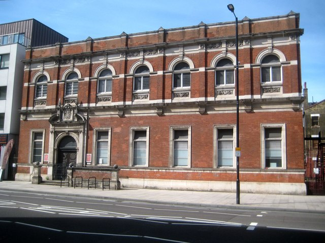 Canning Town: Former public library