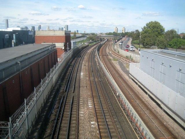 Jubilee Line and Docklands Light Railway