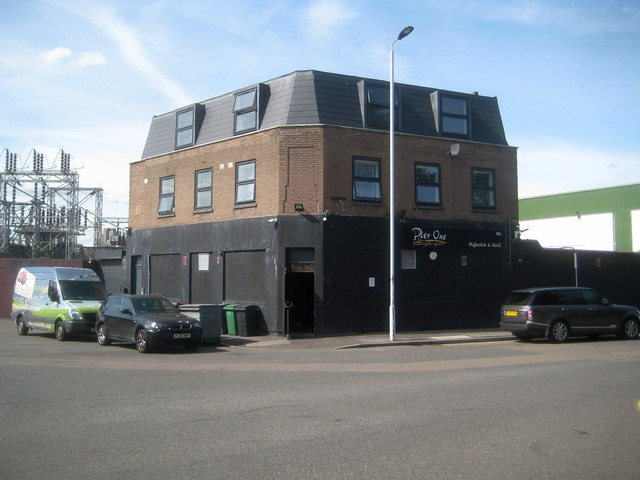 Canning Town: Pier One nightspot, former Dartmouth Arms public house