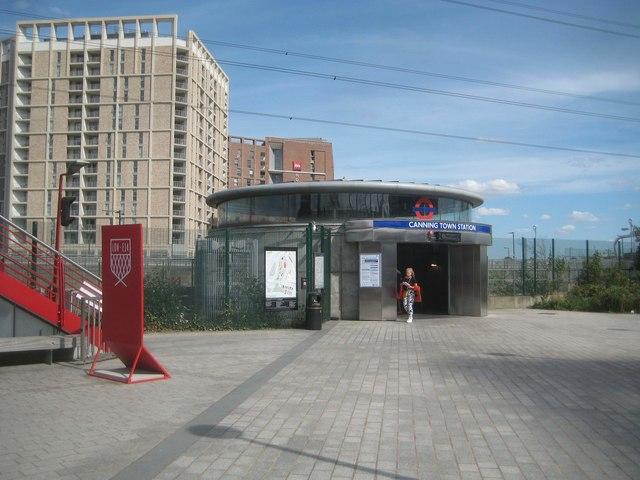 Canning Town Underground Station