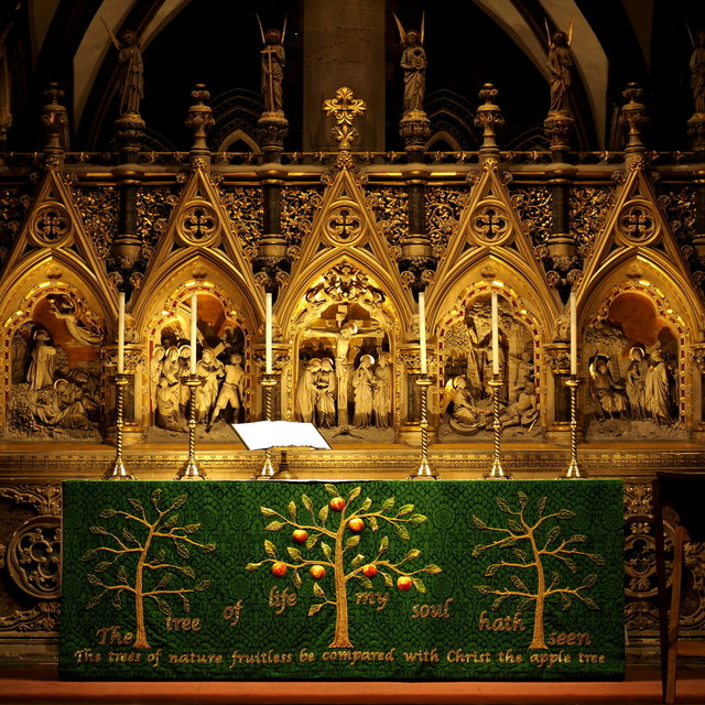 Hereford cathedral altar