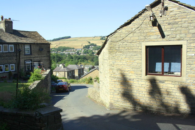Building of the former Upper Bently Royd Farm